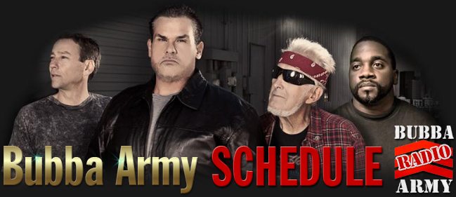 BUBBAARMY-Schedule
